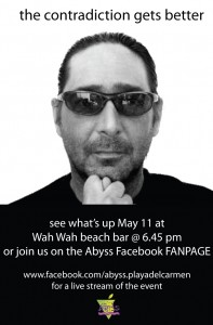 Abyss dive center event May 11, 1012 Wah Wah beach bar
